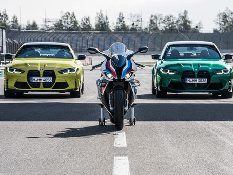 Uudet BMW M3 Sedan ja M4 Coupé – Competition-malleissa myös xDrive-neliveto-optio