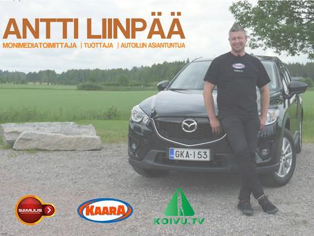 Antti Liinpää tarinoi koeajovideoiden tuottamisen ihmeellisestä maailmasta