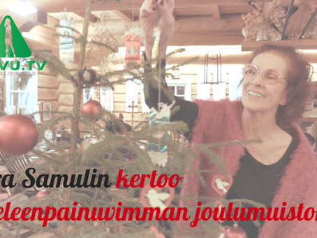 Aira Samulinin ja Nasima Razmyarin joulumuistot