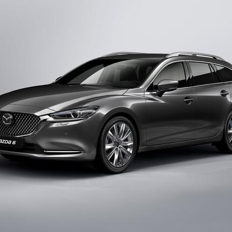Uusi Mazda6 sekä farmarina että sedanina