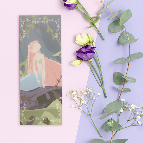 "Bookmark ""Mermaid on rock"""