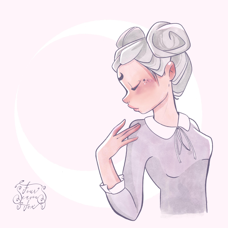 Moon buns