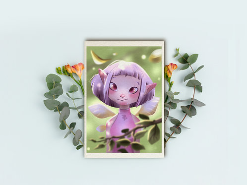 "Art Print ""Pixie"""