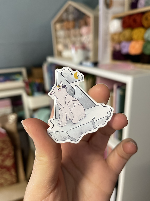 Polar bearvinyl sticker