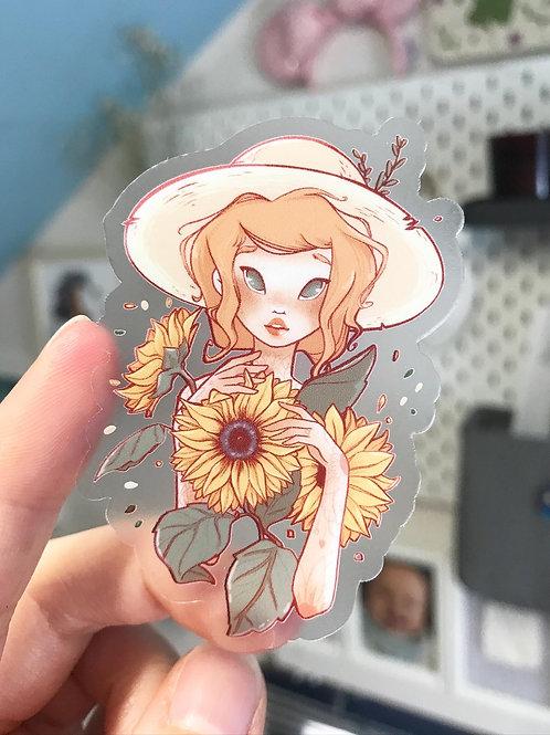 "Sticker ""Sunflowers"""