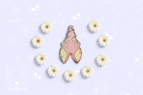 Enamel pin: Pink Bat