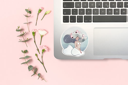 "Special effects Sticker ""Mermaid"