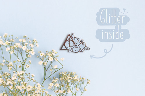 Deathly Hallows Enamel Pin