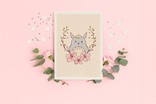 "Art Print ""Totoro"