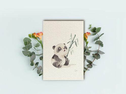"""Art Print """"Panda"""""""