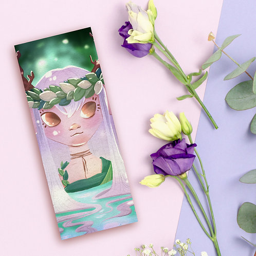 """Bookmark """"Forest Nymph"""""""