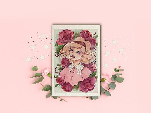 "Art Print ""Sabrina"""