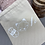 Thumbnail: Cotton Bag| Project bag with White Crochet design