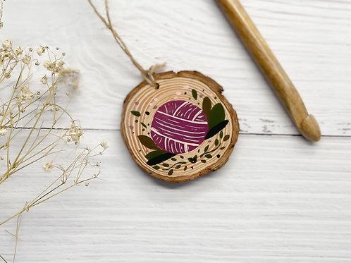 Wood Slice - Yarn