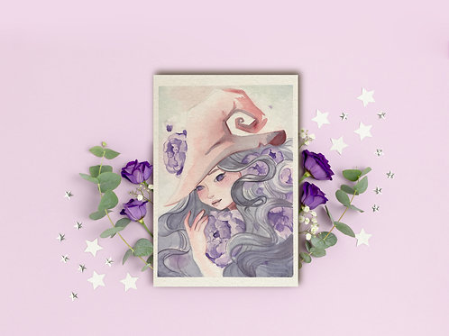 "Art Print ""Violet Witch"""
