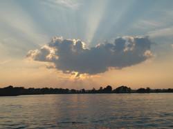 God creates beautiful sights.