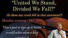 United We Stand, Divided We Fall?