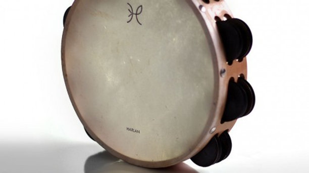 "Harlan 10"" Double Row Tambourine"