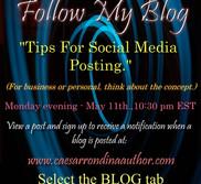 Tips For Social Media Posting