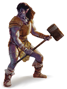 Something Different: The Half-Orc Monk
