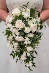 mixed shower bouquet
