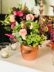 mixed vase arrangments
