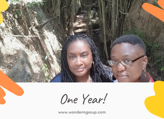 One Year!!   Wandering Soup