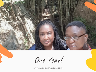 One Year!! | Wandering Soup