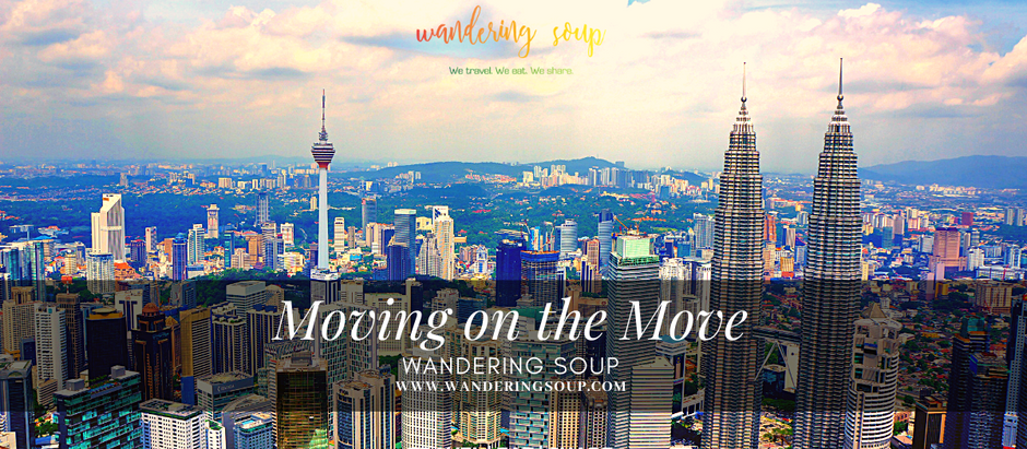 Moving on the Move | Wandering Soup