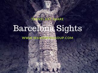 Sightseeing in Barcelona