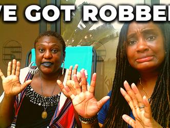 WE GOT ROBBED!