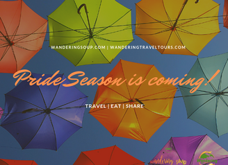 Pride Season is Coming!   Wandering Travel Tours