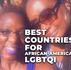 5 Best Countries for African-American LGBTQI in 2021!