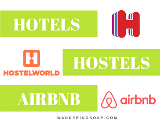 Hotels, Hostels or AirBnB?