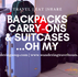 Backpacks, Carry-on's & Suitcases   Wandering Travel Tours
