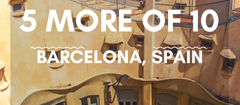 5 More of 10-Barcelona, Spain