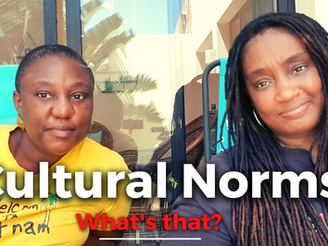Cultural Norms and other things