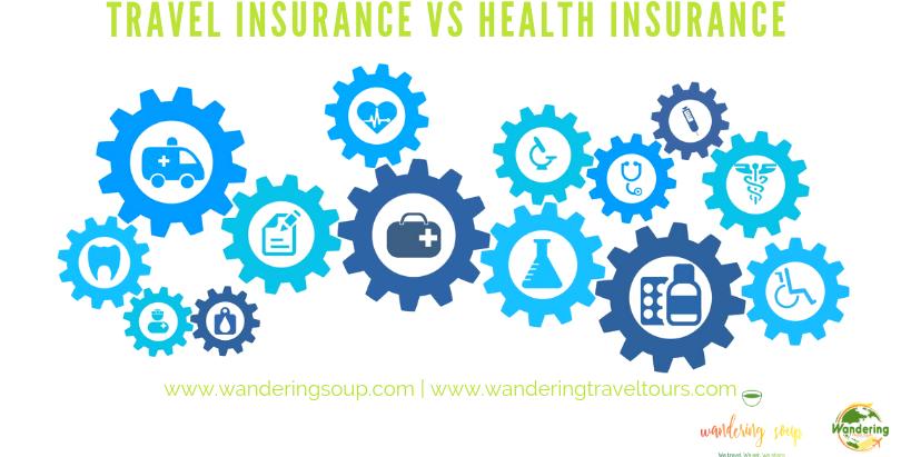 Travel Insurance vs Health Insurance | Wandering Travel Tours