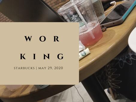 Working...| Anondra Williams