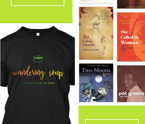 Traveling Reads and Traveling T's!