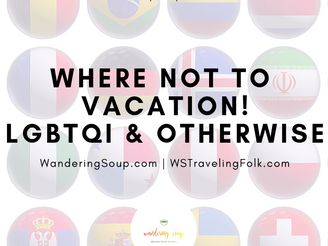 "Where ""NOT"" to go 