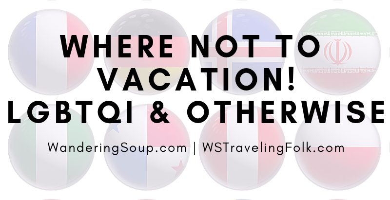 """Where """"NOT"""" to go 