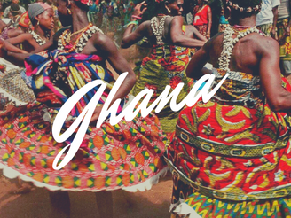 We are going to GHANA!