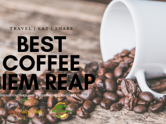Coffee Shops - Siem Reap - Brown Coffee | Wandering Soup