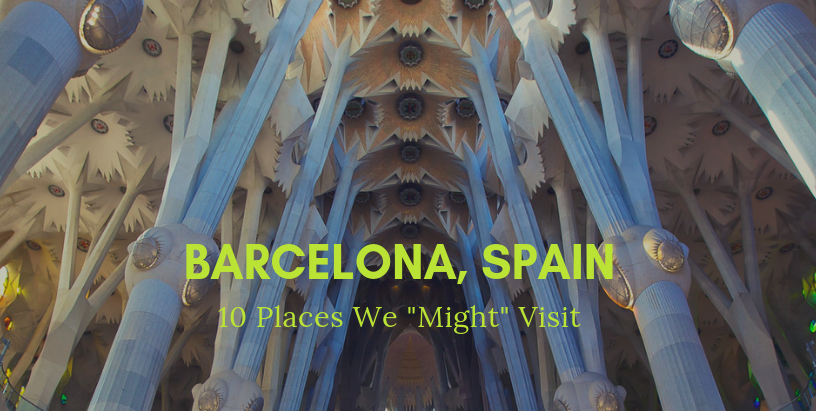 """10 Places We """"Might"""" Go"""