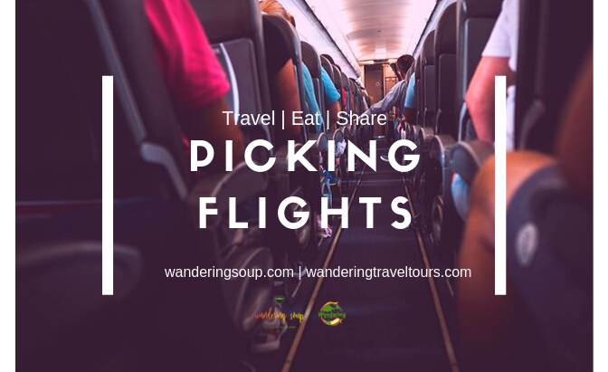 Picking Flights | Wandering Travel Tours