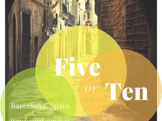 Five of Ten - Barcelona Spain