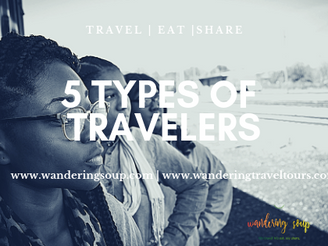 5 Types of Travelers | Wandering Travel Tours