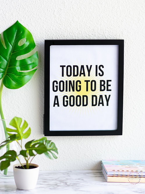 Sunny Day Motivation Poster