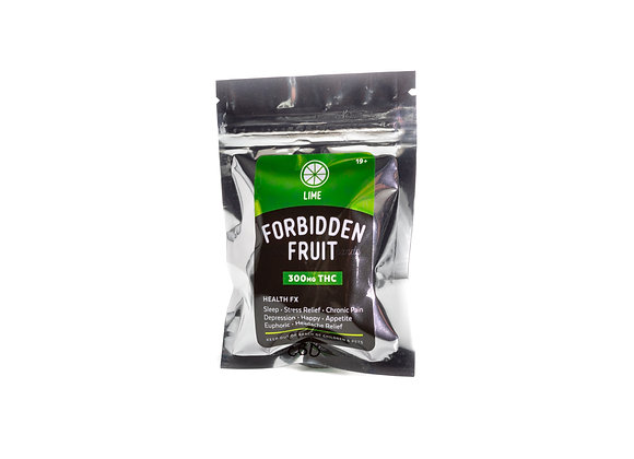 Forbidden Fruit Hard Candy, Lime Flavored 300MG THC